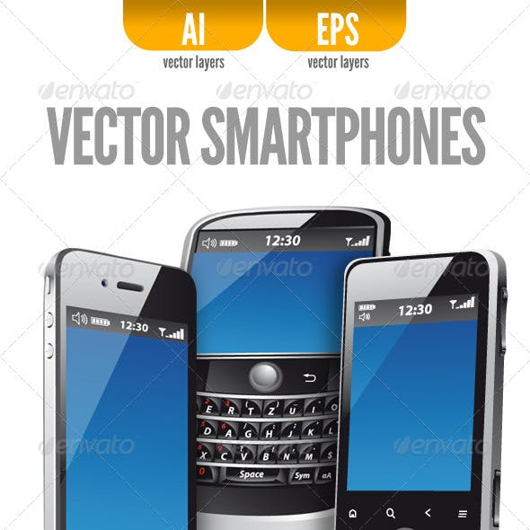 Three Vector Smartphones