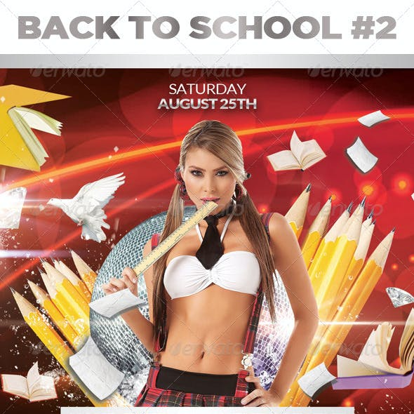 Back to School 02 | AFter School | Flyer Template