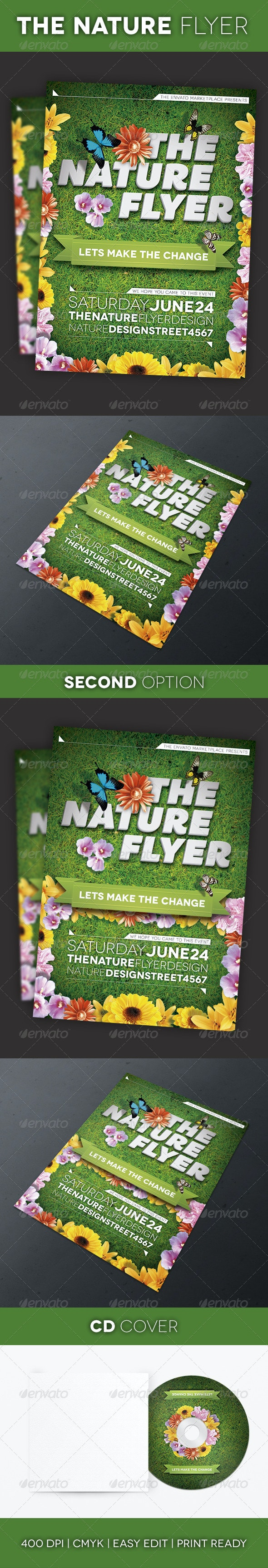 The Nature Flyer - Events Flyers