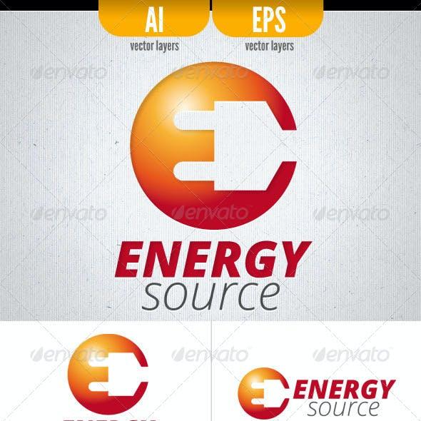 Energy Source . Logo Template