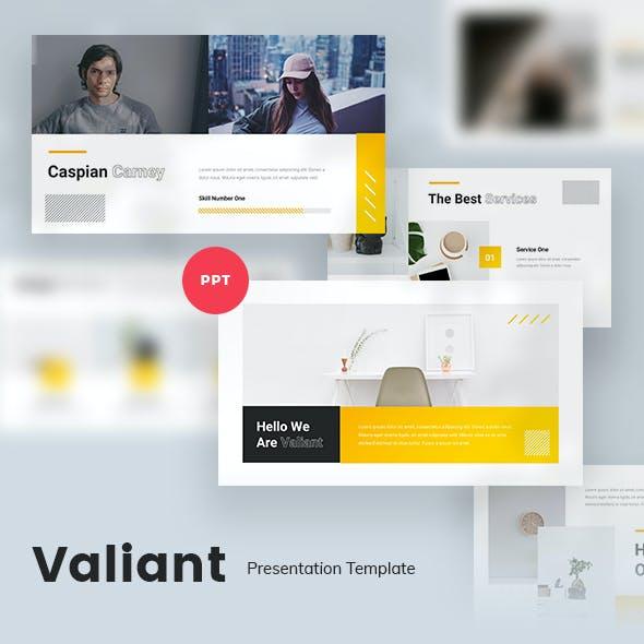 Valiant Creative Powerpoint Template