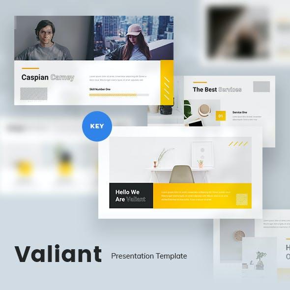 Valiant Creative Keynote Template