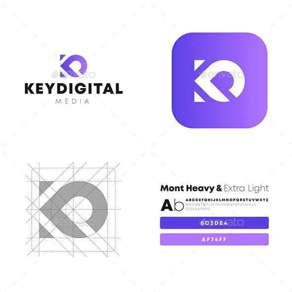 Keydigital KD Letter Logo