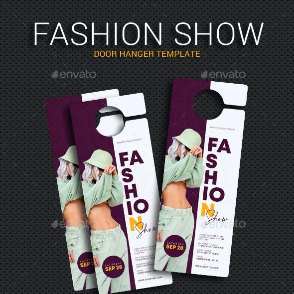 Fashion Show Door Hanger