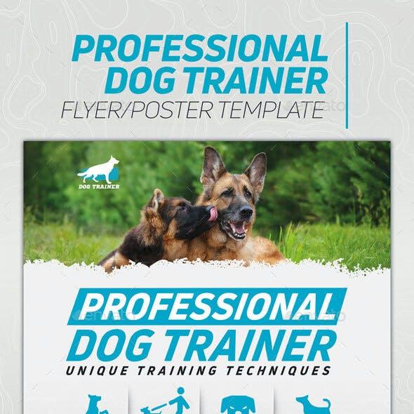 Dog Trainer Flyer/Poster