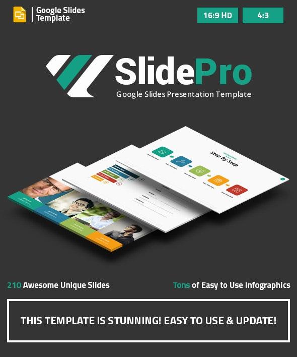 SlidePro - Marketing Google Slides Presentation Template
