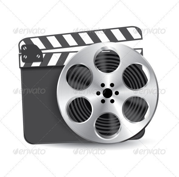 Film Reel Clapboard - Industries Business