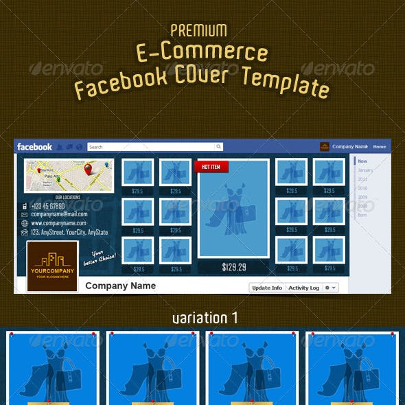E-commerce Facebook Timeline Cover 9