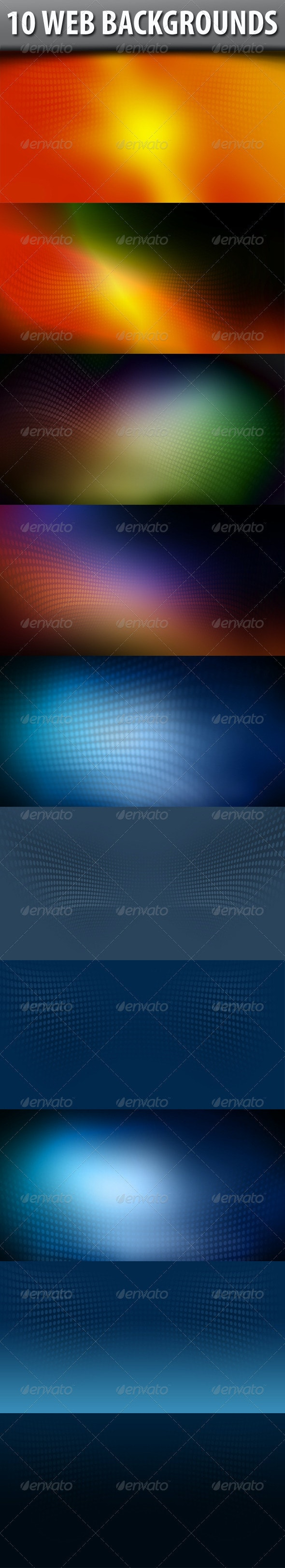 Web Backgrounds - Abstract Backgrounds