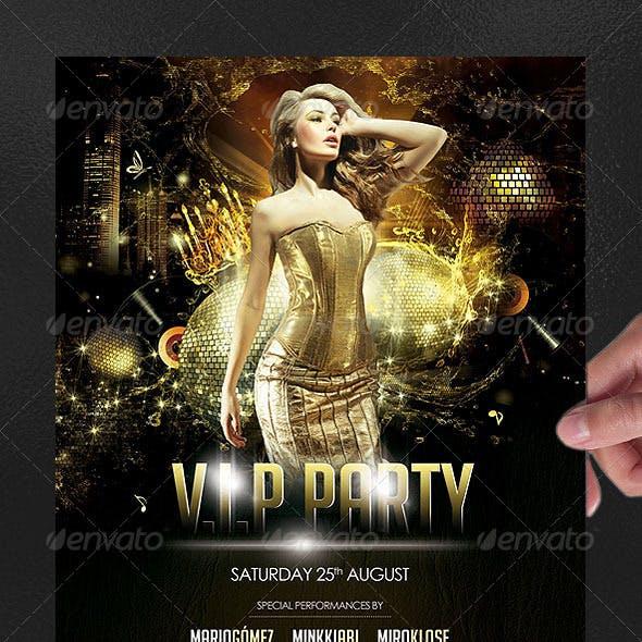 V.I.P Party Poster/Flyer