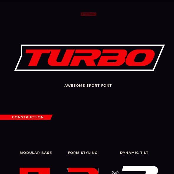 Turbo Sport Font