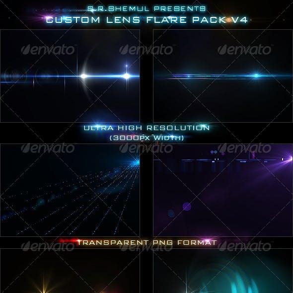 Custom Lens Flare Pack V4