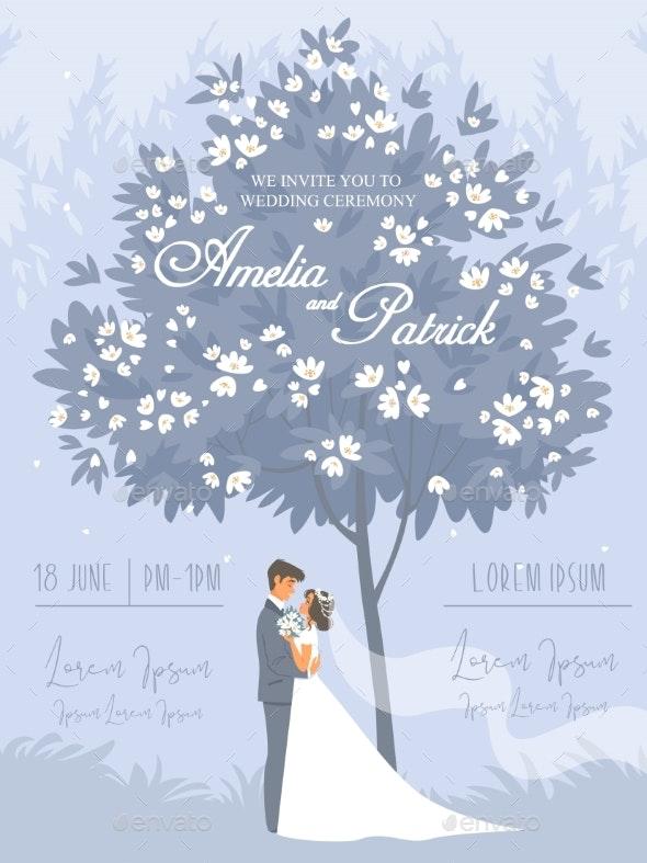 Wedding 4 Blue - Flowers & Plants Nature