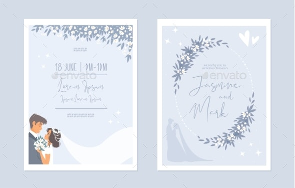 Wedding Cards - Flowers & Plants Nature