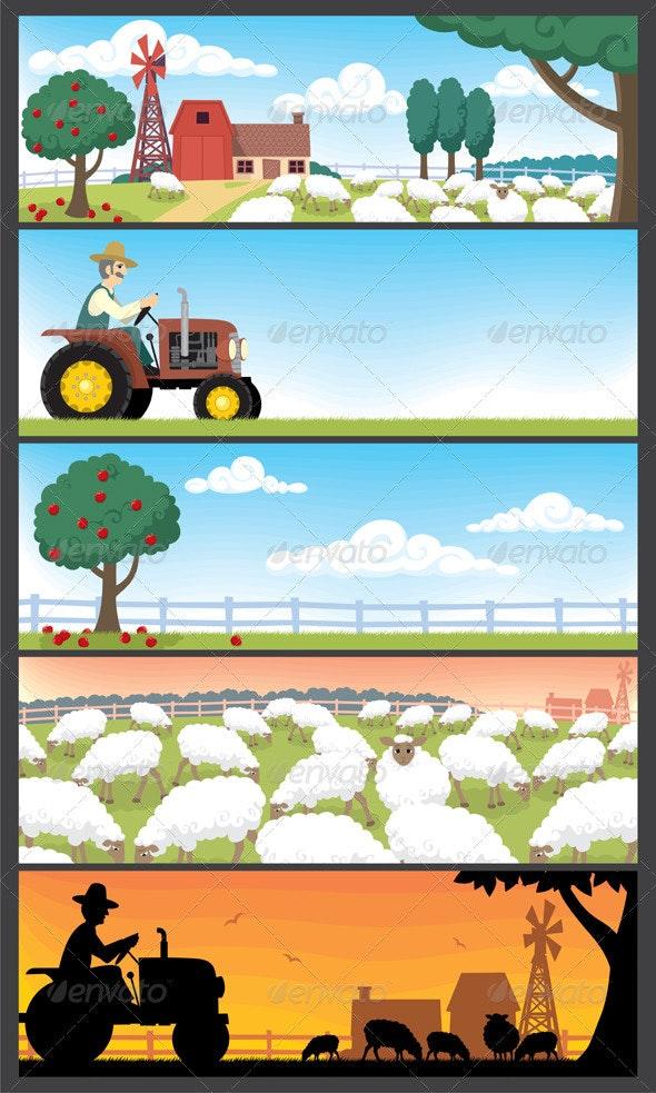 Farm Landscapes - Industries Business