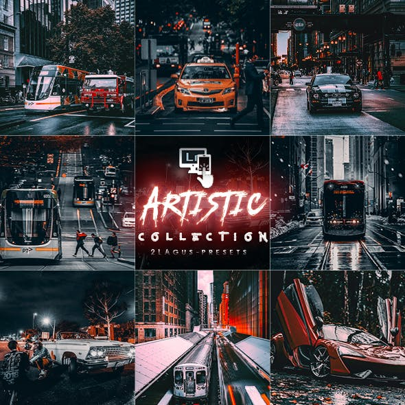 Artistic Collection - Cinematic Lightroom Presets