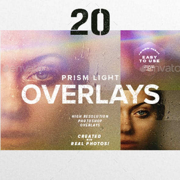 20 Prism Light Overlays