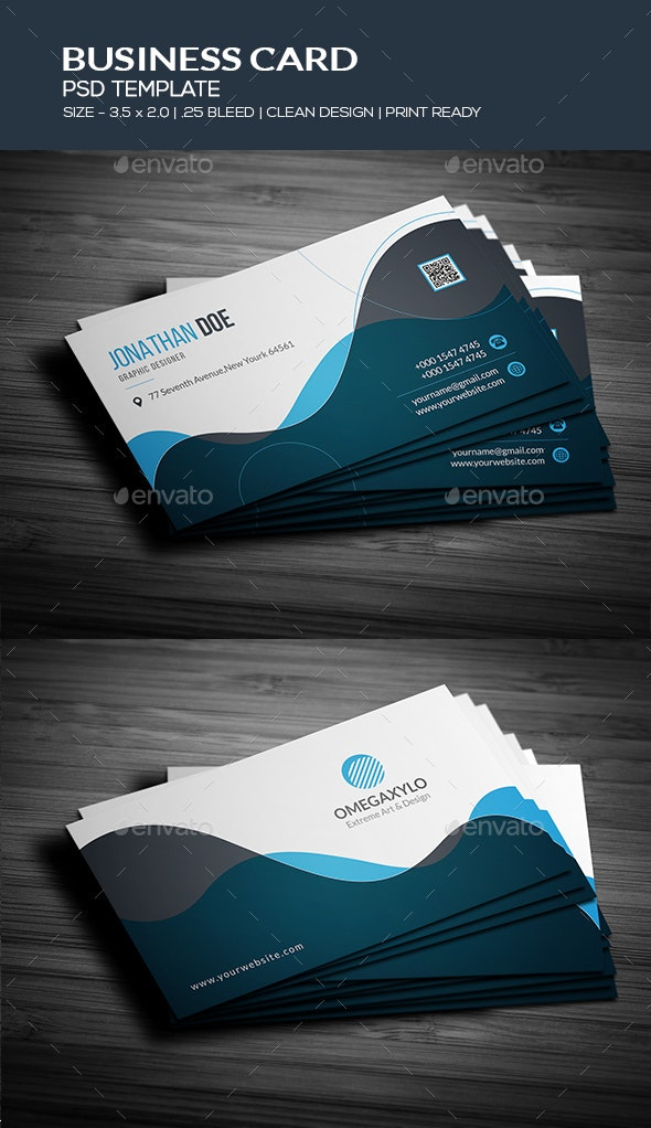 Crative Business Card Template - Creative Business Cards