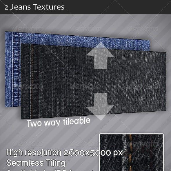 Tileable Jeans Textures