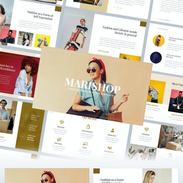 MARISHOP – Fashion PowerPoint Template