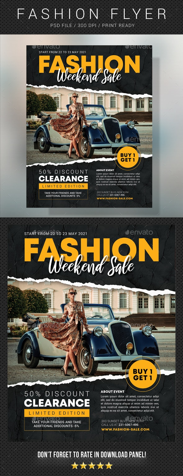 Fashion Sale Flyer V2 - Events Flyers