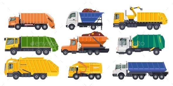 Dump Trucks Loaders or Dumpers and Haul Lorries - Industries Business