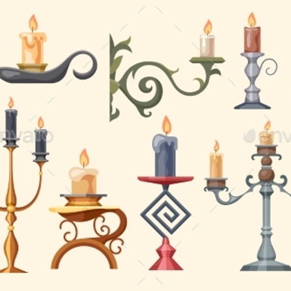 Candlesticks Candle Holders and Candelabra Lights