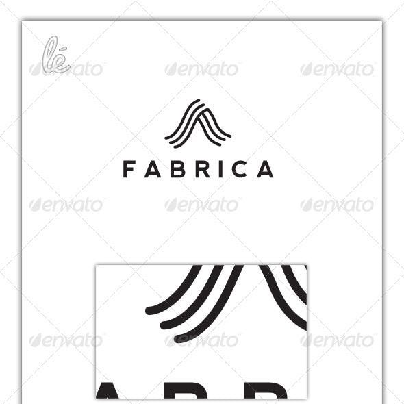 Letter A Logo - Curved Lines Logo - Wavy A Logo