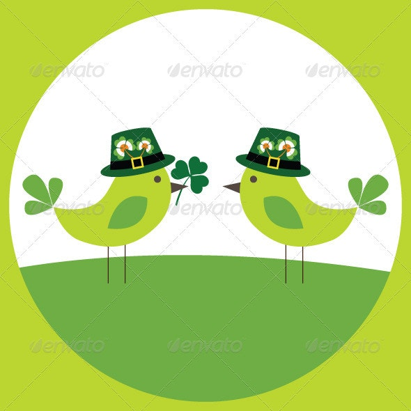Card for St. Patrick's day. - Seasons/Holidays Conceptual