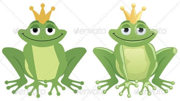 Frog Prince - Characters Vectors