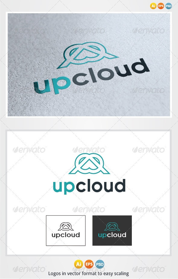 Up Cloud Logo - Symbols Logo Templates