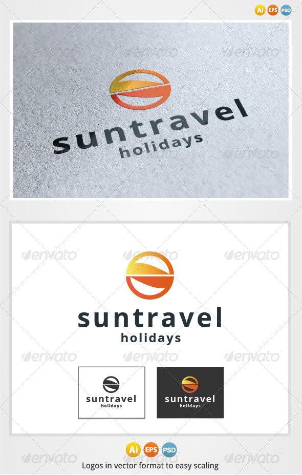 Sun Travel Logo - Symbols Logo Templates