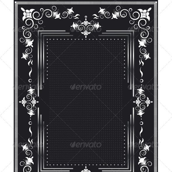 Decorative Frame for Silver Decor