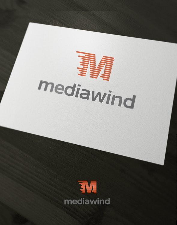 Media Wind - Letters Logo Templates