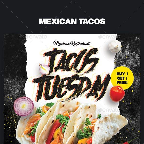 Mexican Tacos Flyer