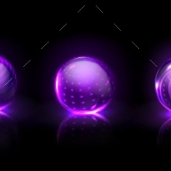 Force Shield Bubbles Power Energy Glass Spheres