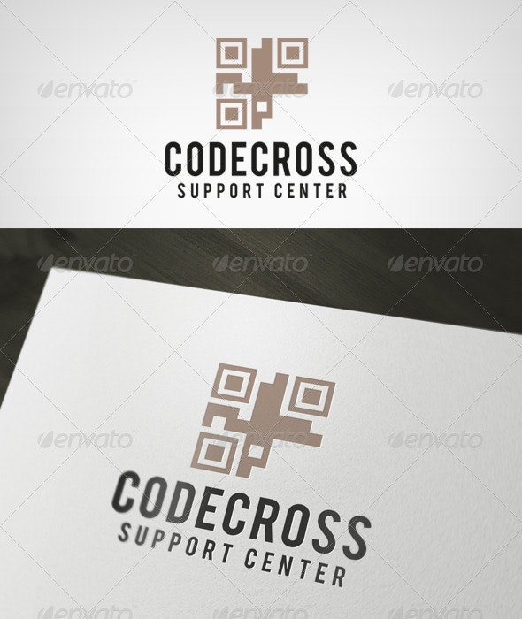 Codecross Logo - Symbols Logo Templates