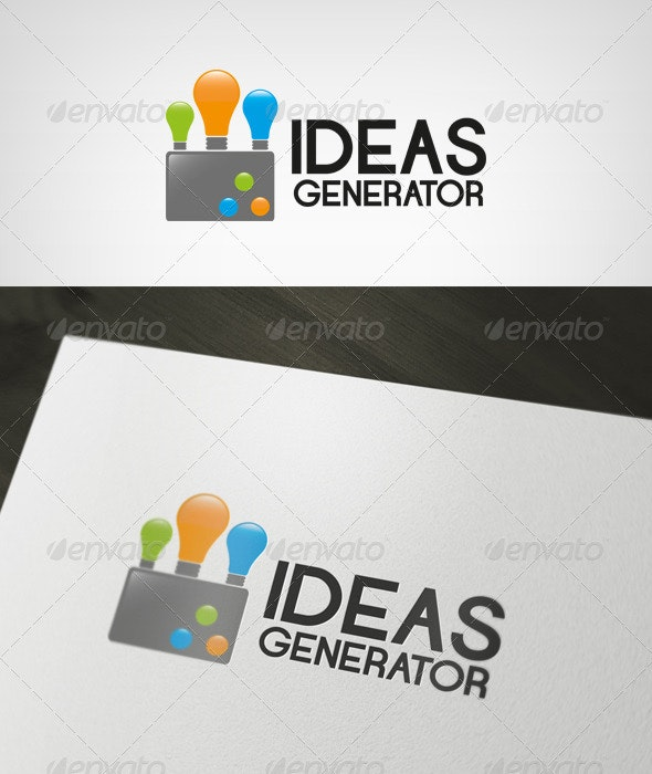 Ideas Generator Logo - Objects Logo Templates