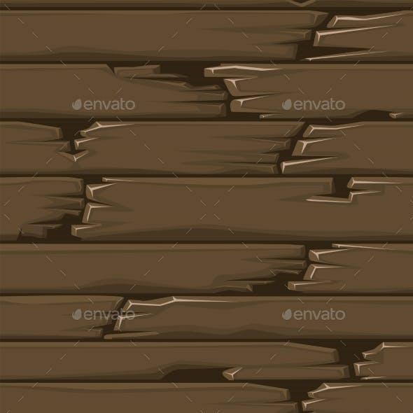 Seamless Textured Wood Floor Old Brown Boards
