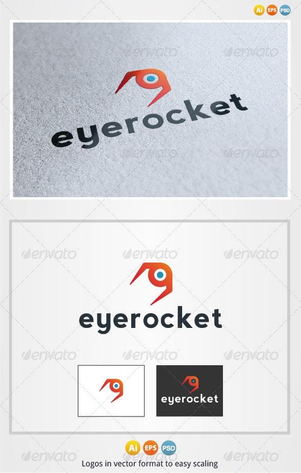 Eye Rocket Logo - Objects Logo Templates