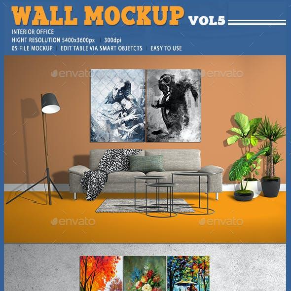WALL MOCKUP [VOL5]