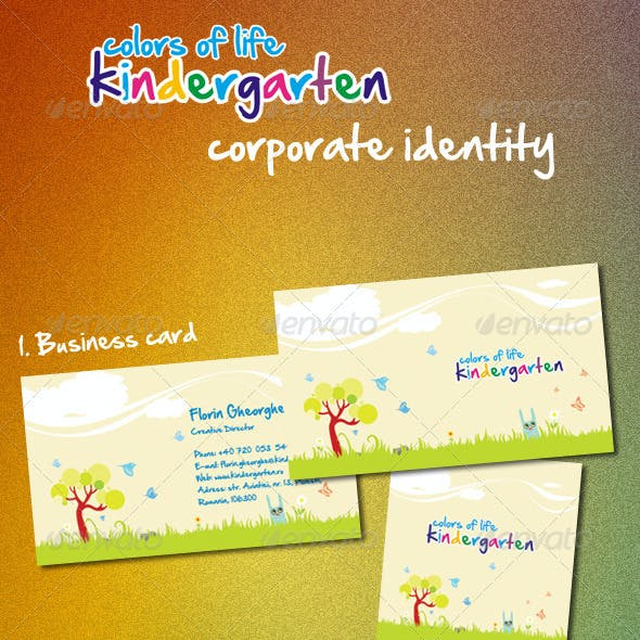 Kindergarten Corporate Identity