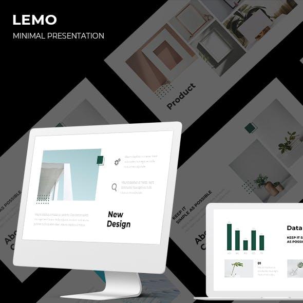 LEMO Minimal Keynote Template