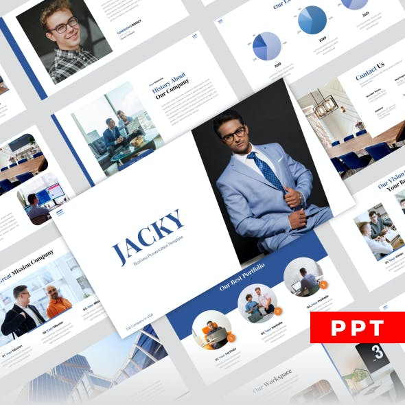 JACKY - Business Powerpoint Templates