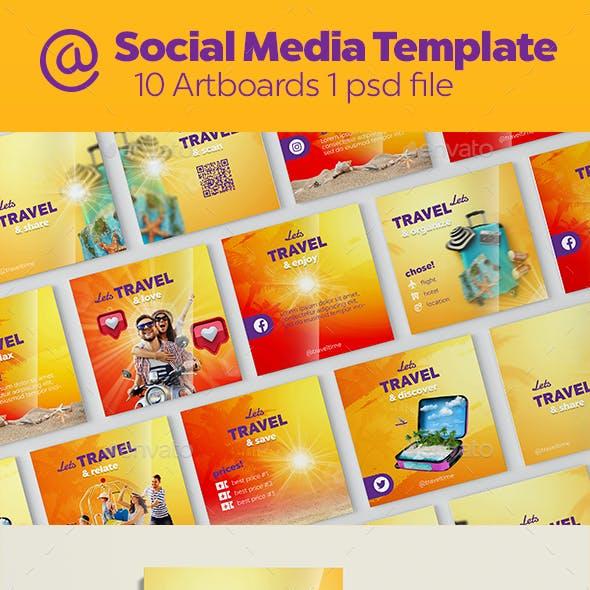 Travel Instagram Banners | Social Media