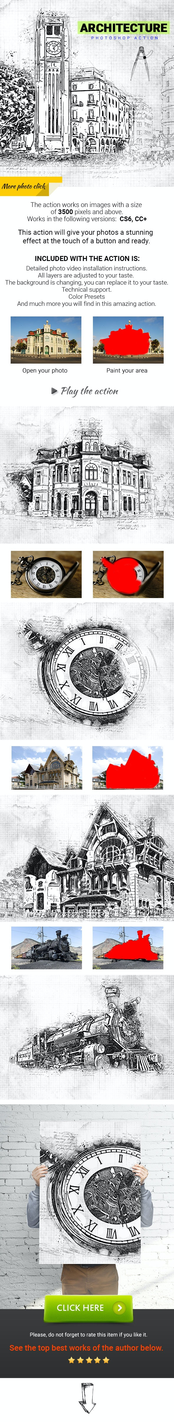 Architecture Photoshop Action - Photo Effects Actions