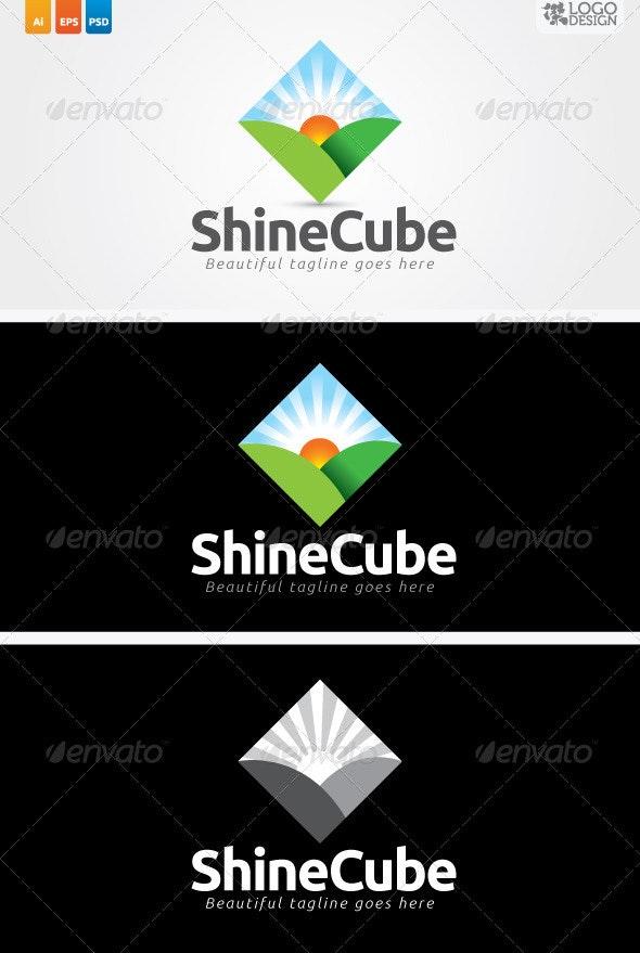 Shine Cube - Nature Logo Templates