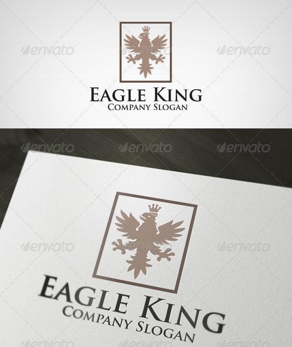 Eagle King Logo - Animals Logo Templates