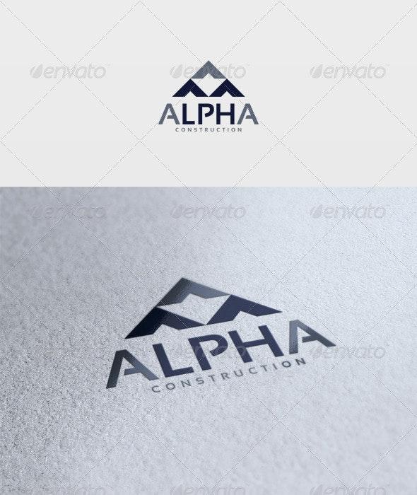 Alpha Logo - Vector Abstract