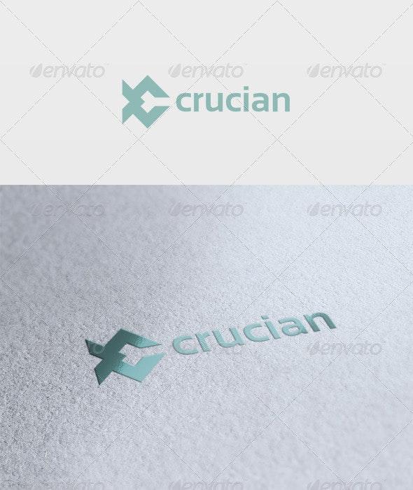 Crucian Logo - Vector Abstract